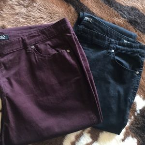 Two pair Buffalo stretch pant